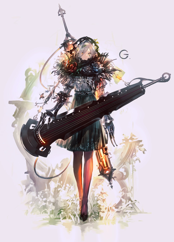 【P站画师】日本画师Garuku的插画作品- ACG17.COM
