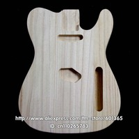 platane wood electric guitar body electric guitar kit kits platane wood TL style
