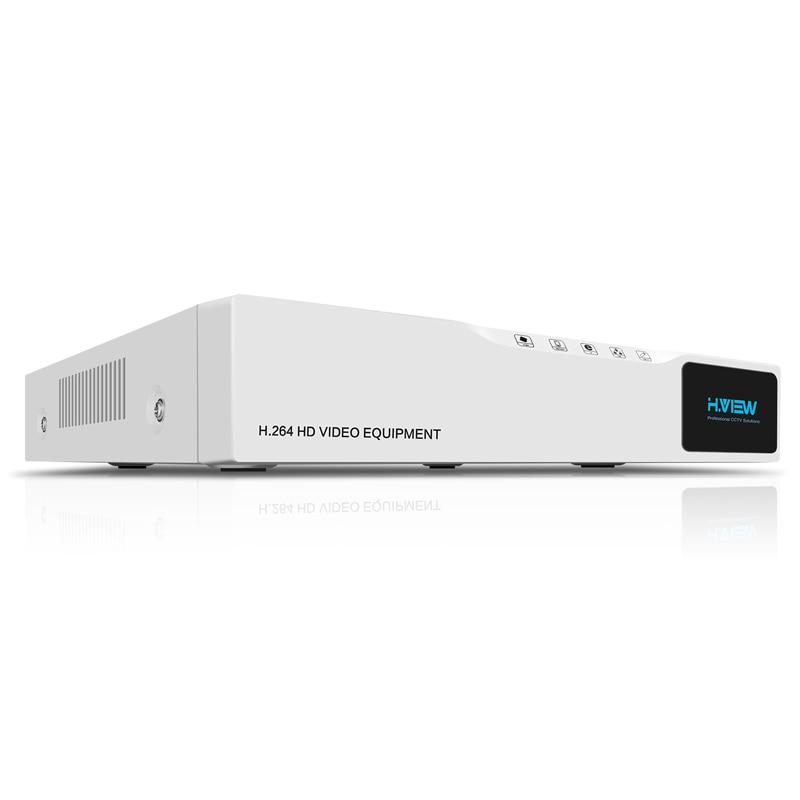 H.VIEW CCTV DVR 8ch H.264 AHD DVR NVR 8ch Digital Video Recorder for CCTV 1080P HDMI Video Output Support Analog AHD IP Camera