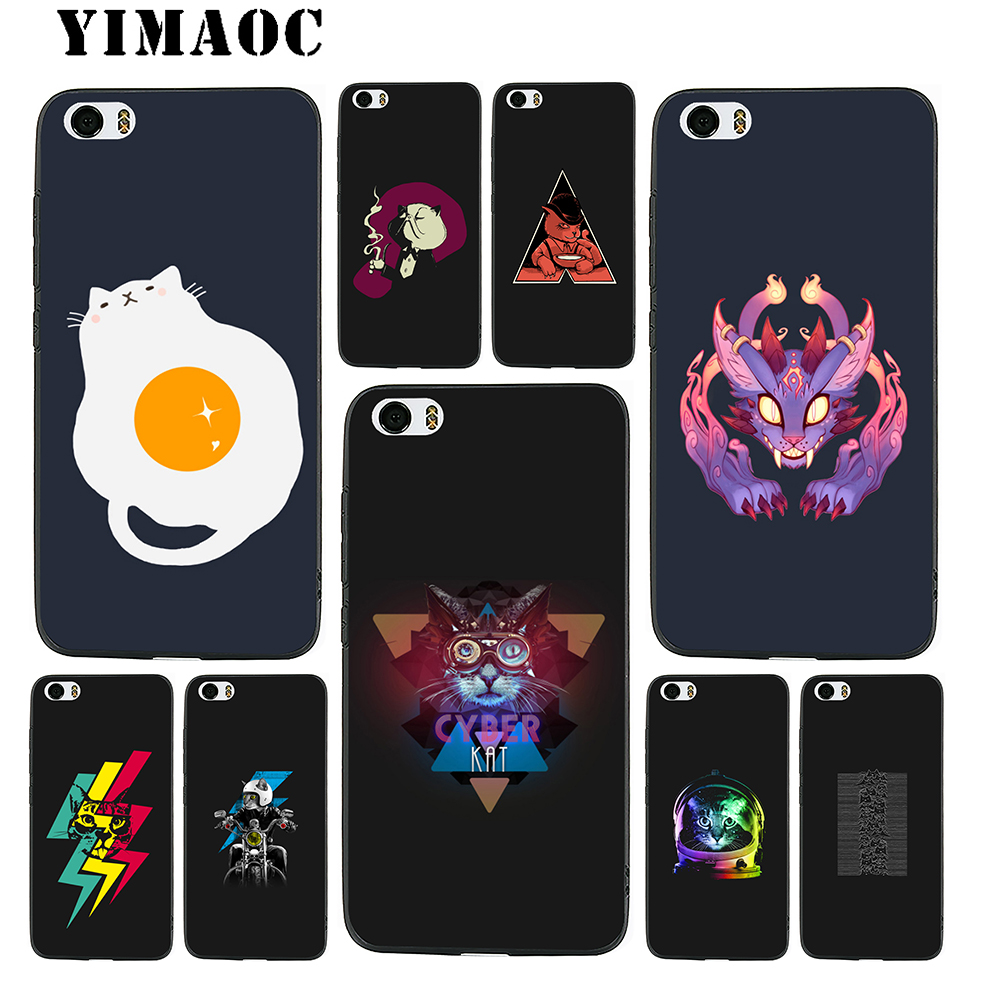 YIMAOC <font><b>Amazing</b></font> Cat Soft Silicone Case for <font><b>Xiaomi</b></font> Redmi Note 9 Mi 8 Se 7 6 6A A1 A2 4X 4A 5A 5 MAX 3 MiA1 A2 image
