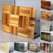 2016 new Wood Texture Motif Hard Case Pour Macbook Air 11 13/Pro 13.3 15.4 Pro Retina12 13.3 15.4 pouce Pour Macbook cas