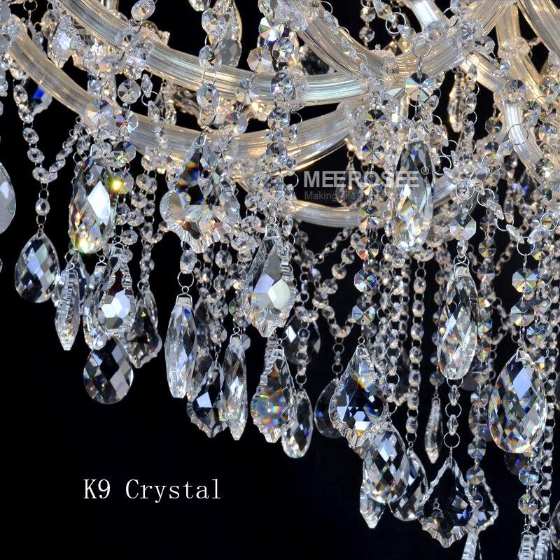 Lustre de candelabru de cristal mari de lux Maria Theresa Lumină de - Iluminatul interior - Fotografie 6