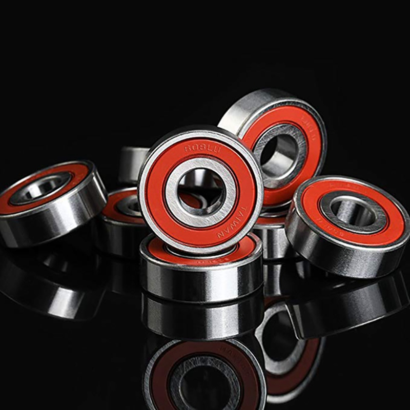 10Pcs 608 ABEC-11 Skate Wheel Bearing Skate Scooter No Noise Oil Lubricated Smooth Skate Scooter Bearing Longboard Speed Inline