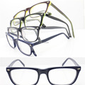 wholesales RB17110 durable square full-rim flexi spring hinge colorful cute student acetate optical frames free shipping