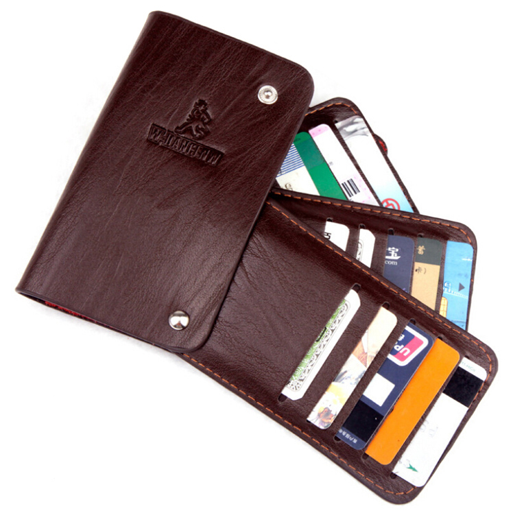 Hot Sale Fashion New ID Cards holders Men Women 3 Colors Quality Second Leather Multiple Cards Bit Card Holder Free Shipping все цены