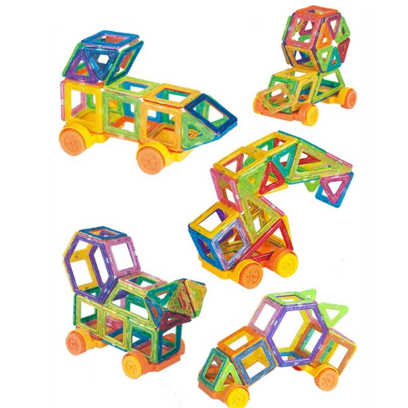 82PCS Mini Architecture Enlighten Magnets
