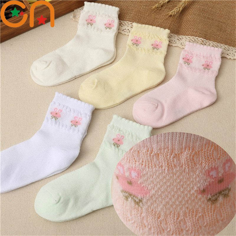 5 pairs/lot 1-12 years Spring summer High quality Children Socks Boy Girl Cotton Casual socks Baby fashion Breathable Mesh socks