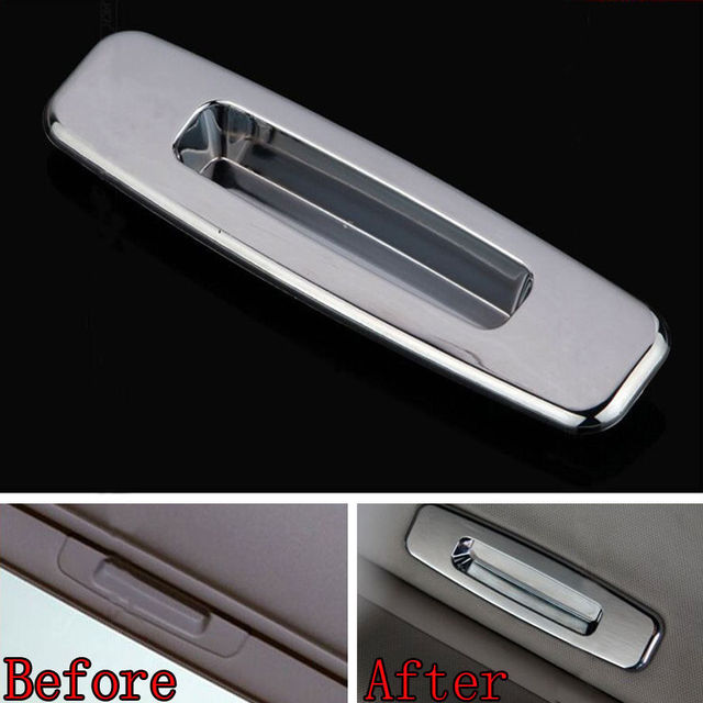 1pcs ABS Car Interior Accessories Roof Handle Cover Decoration Trim Skylight  For Ford Focus 2013 Automobiles