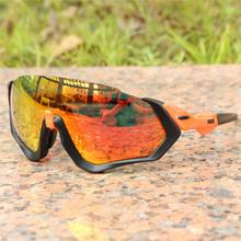 f94bab7fd82 4 Lens Airsoftsports Cycling Sunglasses Polarized Men Sport Road Mtb  Mountain Bike Glasses Eyewear