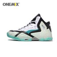 Onemix Баскетбольные кеды Для мужчин Мощный оригинальный качество корзина Дома Аутентичные lb Для мужчин S спортивные snekaer Размеры 39–46