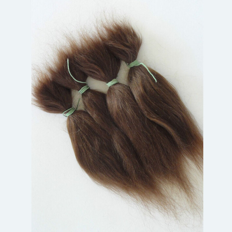2PCS/LOT High Quality Doll Accessories Wigs Synthetic Handmade Mohair Hair For Reborn Dolls synthetic hair wigs new available