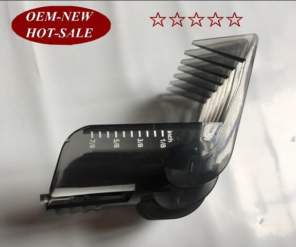1PCS QC5130  Head Hair Clipper Comb 3-21MM  1/8-5/8 INCH For Philips Electric Trimmer QC5105 QC5115 QC5120 QC5125 QC5135