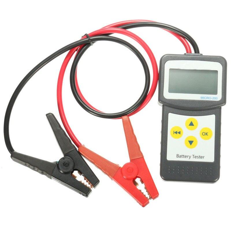 Qualité Durable d'instruments électriques d'analyseur de batterie de véhicule des véhicules à moteur d'appareil de contrôle de batterie de voiture d'abs 12 V