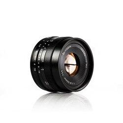 7artisans 50mm F1.8 Manual Focus Prime Lens for Sony E Mount A6500 A9 A7 II A7RII /Fuji X-T2 Camera/Canon EOS-M M6 Mount Camera