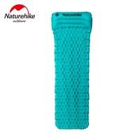 Naturehike Outdoor Sleeping Mat Tent Air Mattress With Pillow Moisture Proof Pad For Mummy Envelope Sleeping