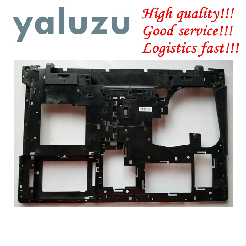 YALUZU 15.6Inch New laptop Bottom <font><b>case</b></font> cover For <font><b>Lenovo</b></font> for Ideapad <font><b>Y500</b></font> Y510 Y510P MainBoard Bottom Casing <font><b>case</b></font> base Lower <font><b>Case</b></font> image