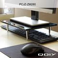 Monitores LCD Bracket Suporte Titular de Exibição, teclado e Mouse sem fio De Armazenamento Rack