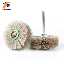 Abrasive-Wire Polishing-Brush Drill Grinding-Wheel Wood for Furniture Mahogany Finish