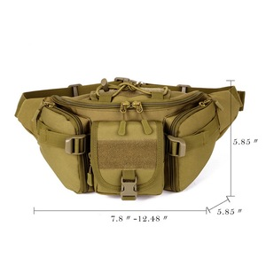 Image 5 - Nouveaux hommes Hip Packs en plein air sac étanche mâle tactique taille sac Molle système poche ceinture sac à dos sacs de sport militaire
