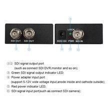 Retail SDI Splitter 1x2 Multimedia Split SDI Extender 1 to 2 Ports Adapter Support 1080P TV Video For Projector Monitor Camera