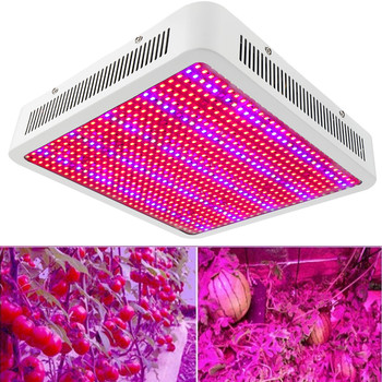 800W 800LEDs Full Spectrum LED Grow Light Plant Growing Lamp for Hydroponics Growth Bloom Flowers Fruits Indoor Greenhouse Tent