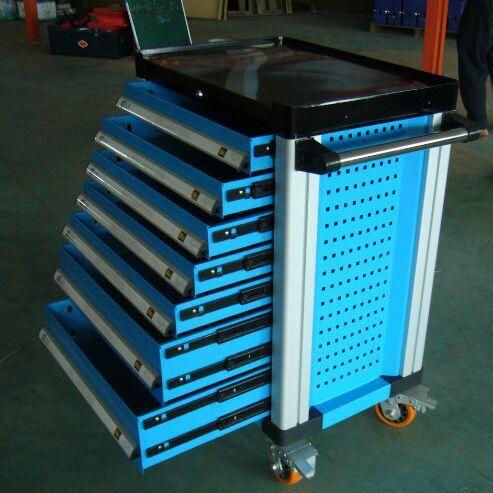 Automative De Stockage Boîte à Outils Mobile Outil Chariot Boîte À Outils En Métal 7 Tiroirs Avec 255 unités Outils
