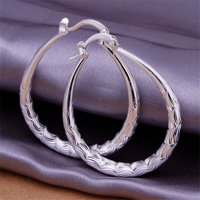 Radient 925 Schmuck Silber Überzogene Großhandels Freies Verschiffen Ohrringe Für Frauen/akoajbva Aknajbua Lq-e295 Schmuck & Zubehör
