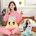 XXL Tamanho Grande Pijamas de Inverno Flanela Pijamas Plus Size Pijamas Entero Feminino Rosa Pijamas Mulheres Pijama Conjuntos de Pijama Pijama Mujer
