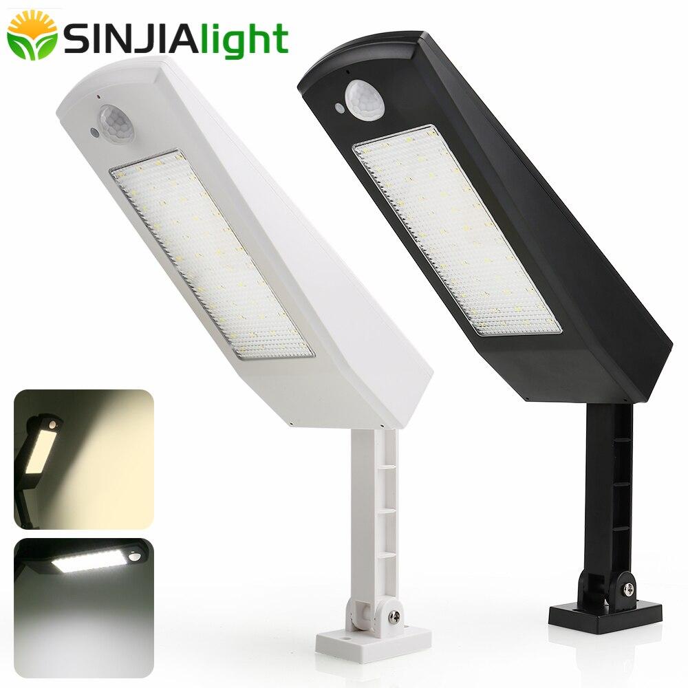 48LED Solar Light PIR Motion Sensor Wall Lamp Outdoor Solar Garden Lights Waterproof Spotlight 900LM Street Yard Path Light