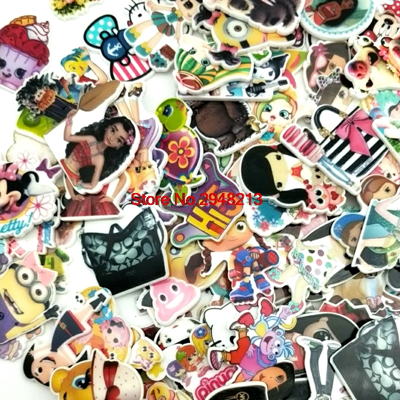 DISNEY AND CHARACTER PLANAR RESIN SETS FOR CRAFT BOWS JEWELLERY FLATBACK ACRYLIC