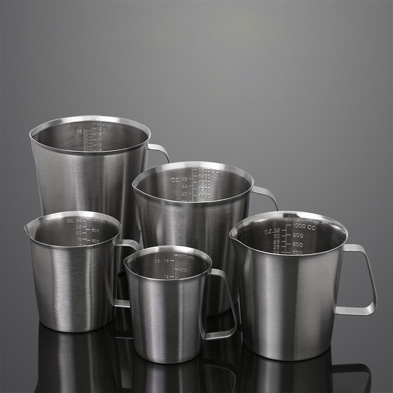 Fantastic Kitchen Stainless Steel Milk Frothing Jug Production Of Cappuccino Tea Coffee Cup Pitcher