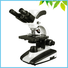 Discount! Halogen Lamp Illumination 40X 100X 400X 1000X Binocular Biological Microscope with 1.3MP Digital Camera