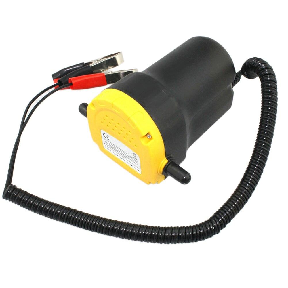 Moteur pompe à huile, 12 V Eelectric Huile/Diesel Fluide Puisard Extractor Charognard Échange de Transfert De carburant Pompe d'aspiration, voiture Bateau Moto