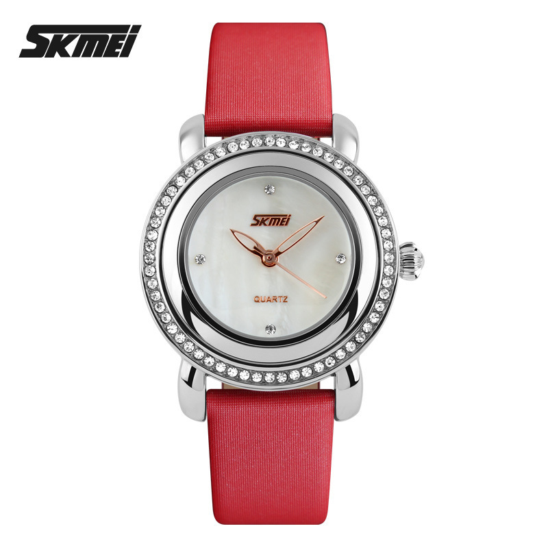 Top Brand Luxury Fashion Ladies Watch Women Rhinestone Watches Silver Female Quartz Clock Montre Femme Relojes De Marca Mujer