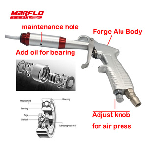 Image 3 - Pistolet do mycia Tornador czarny pistolet do sprężonego powietrza suche Preto Tornado pneumatyczne wysokiej jakości myjnia samochodowa MARFLO