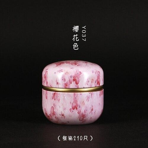 50 мл японский стиль кухонный чай коробка банка держатель для хранения сладкие конфеты банки чайная посуда чайные добавки жестяные контейнеры коробка для хранения - Цвет: 05