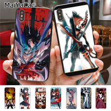 Kill la kill Colored iPhone Cases for Apple iPhone X XS XR XS MAX 8 7 6 6S