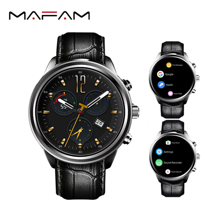 MAFAM X5 Air Smart Watch RAM 2GB/ROM 16GB New MTK6580 wearable devices Bluetooth Watchphone Android 5.1 3G Smartwatch for IOS