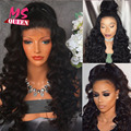 Fashion Synthetic Lace Front Wig Natural Deep Wave Brazilian Top Quality Wig Heat Resistant Synthetic Wigs For Black/White Women