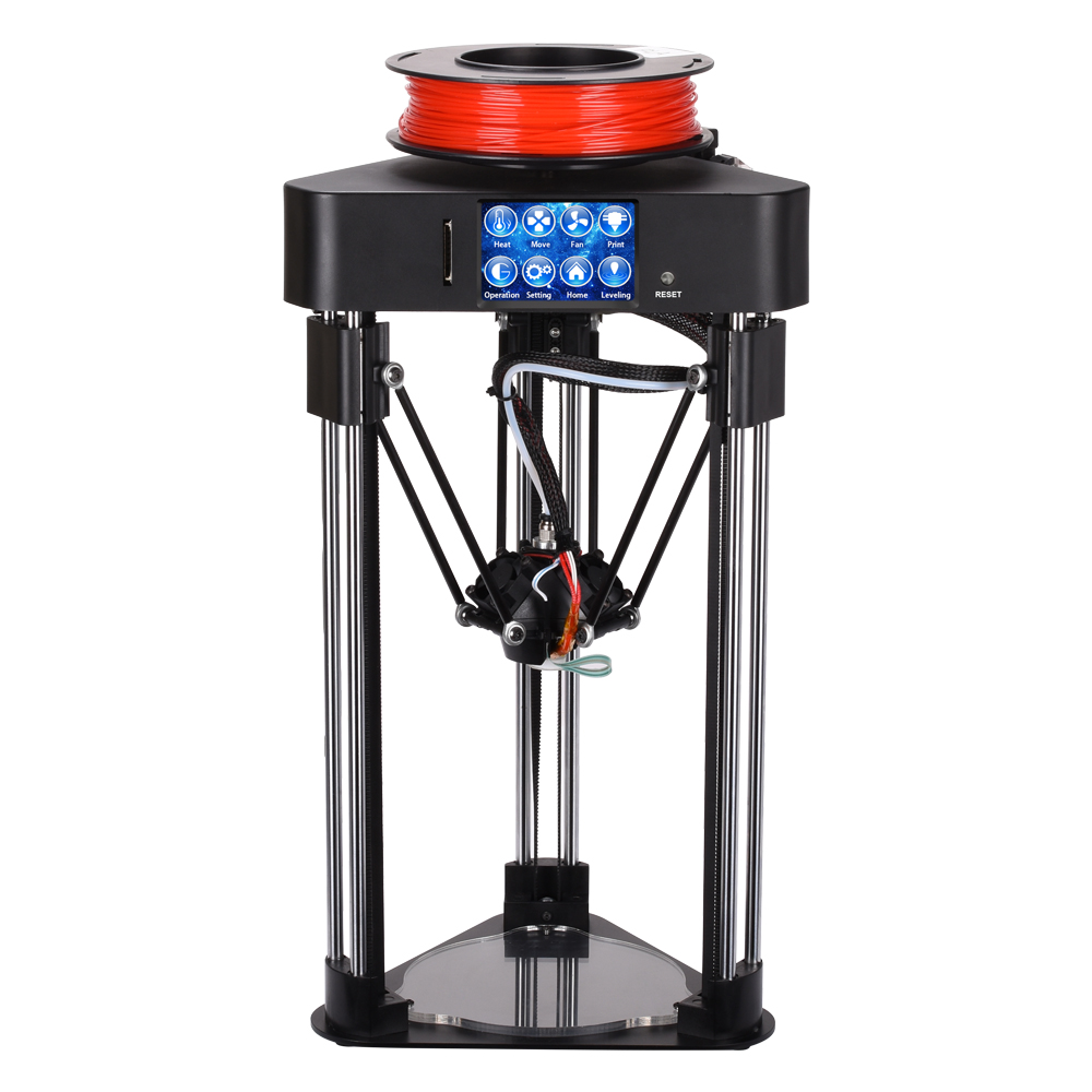 BIQU Magician 3D Printer High precision Mini kossel delta printer Fully Assembly 2.8 inch Touch Screen with Titan Extruder pre sale biqu magician full assembly desktop 3d printer 2 8 inch touch screen titan extruder 32 bits control board kossel delta