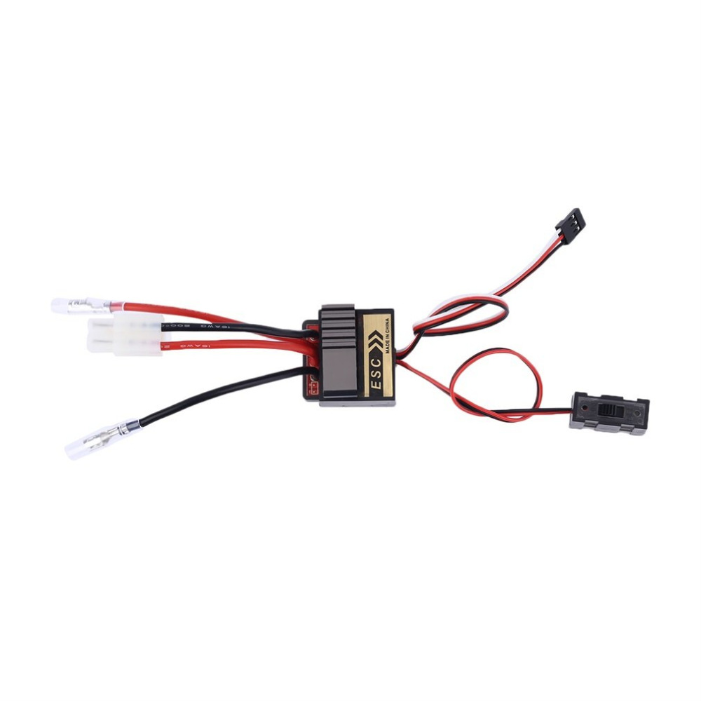Toys 1pc Brushed Electronic Speed Controller Brushed ESC 320A 5.6V 2A For RC Car boat 1/8 1/10 Truck Buggy RC Hobby Vehicles Toy great hobbyking extreme short course short course brushless motor 120a 2s 4s esc speed controller for 1 8 1 10 suv car