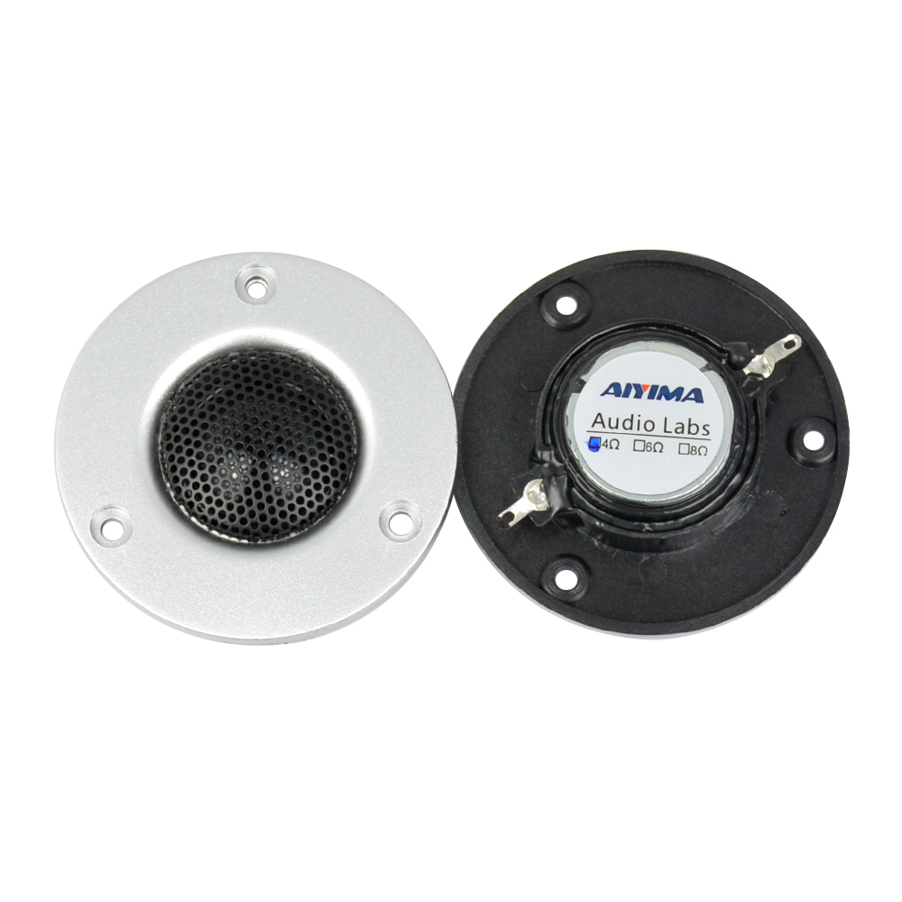 AIYIMA 2Pcs 3Inch Tweeter 4Ohm 20W Altoparlant Portable Audio Gjuha - Audio dhe video portative - Foto 2