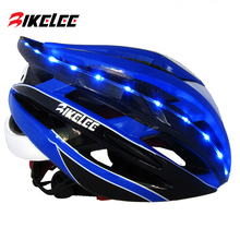 KINGBIKE Cycling Helmet Women Men Bicycle Road Mountain With Back Light MTB Bike Red Blue Titanium Casco Ciclismo