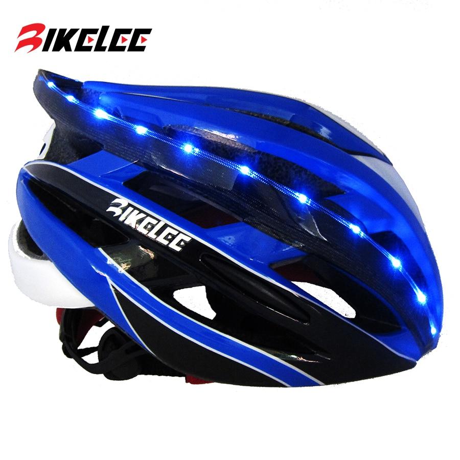Kingbike ciclismo capacete das mulheres dos homens da bicicleta estrada de montanha com luz traseira mtb capacete da bicicleta azul vermelho titânio casco ciclismo
