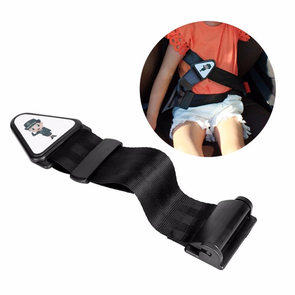 New Adjustable Children Universal Car Safety Seat Belt Adjuster Comfortable Clip Lock Seat Strap Protector Safety Cover Adjuster