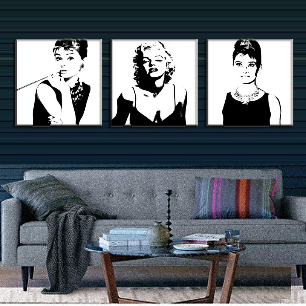online kaufen gro handel audrey hepburn leinwand aus china audrey hepburn leinwand gro h ndler. Black Bedroom Furniture Sets. Home Design Ideas