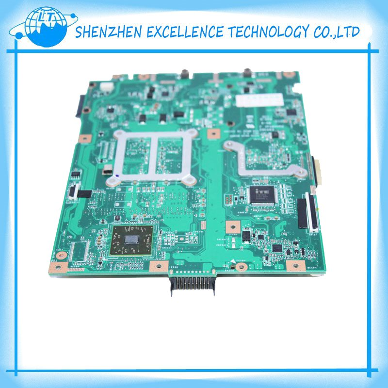 Orginal Laptop Motherboard For ASUS AMD-chipset K52N A52N REV:2.0 with CPU On Board Warranty & fully tested