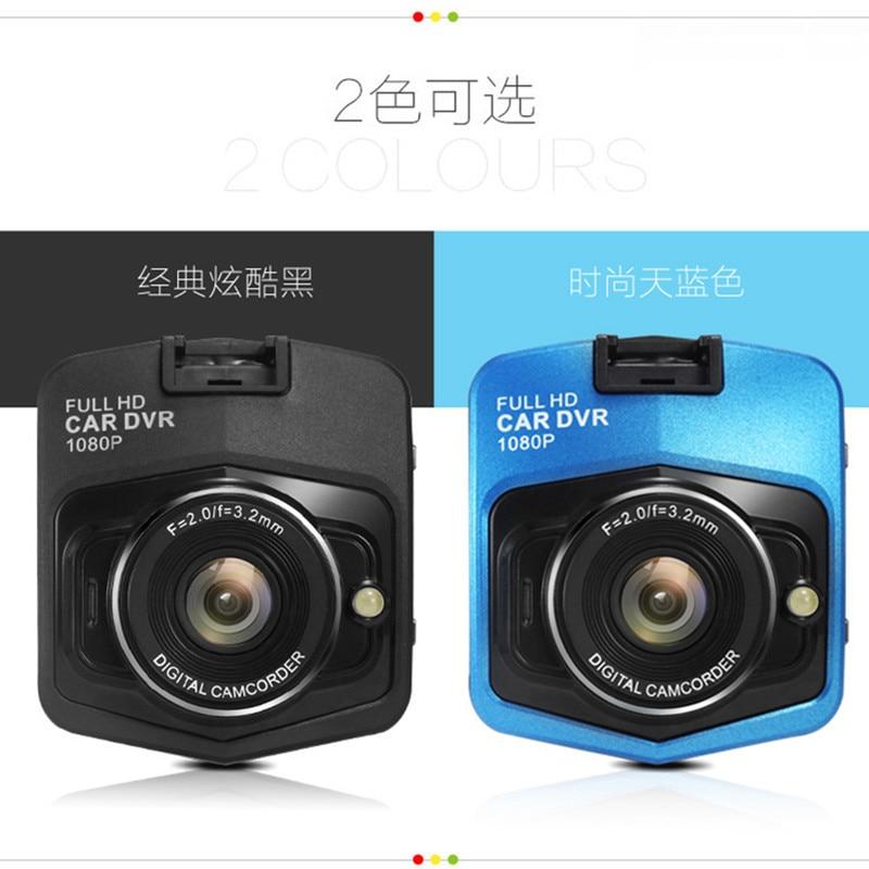 Arac Kameralari Full HD 1080P View Angle Video Camera 2.4 LCD Car DVR Dashcam G-Sensor IR Night Vision Mini Cam Camcorder