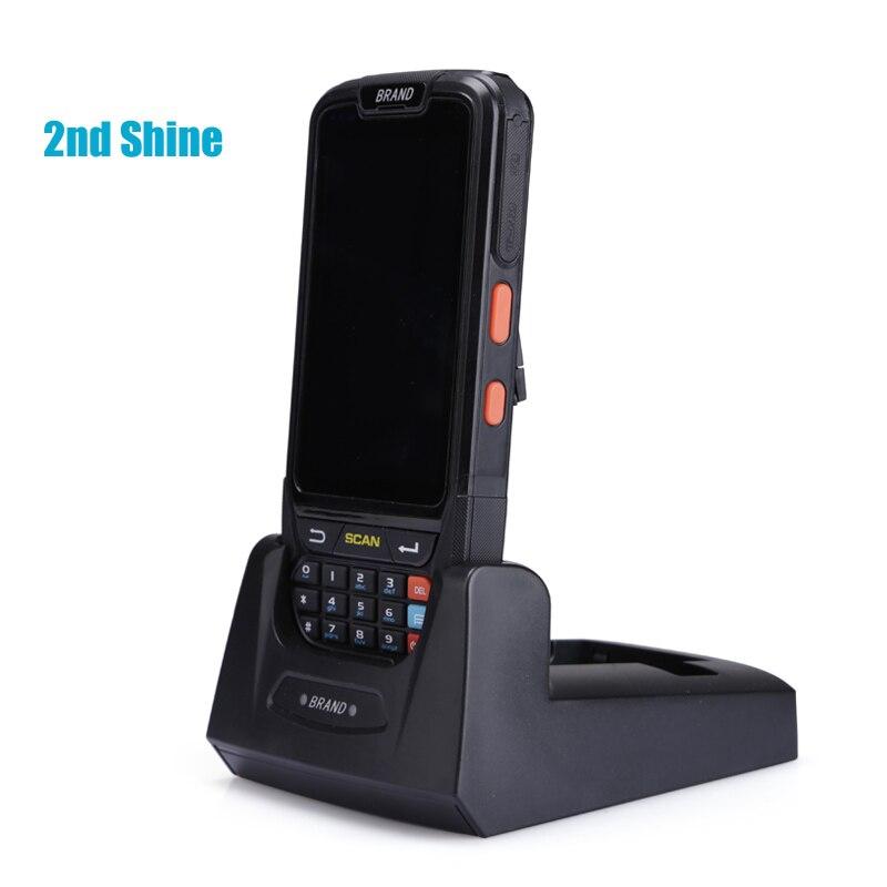 IP65 Android портативный 1D 2D сканер штрих кода водонепроницаемый мобильный компьютер NFC кард ридер