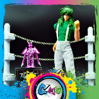 CMT JACK model saint seiya Cloth Myth EX 2.0 Fairy Shun Mufti Cloth form and cloth box Challenge Scene action figure